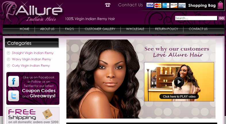 Allure Indian Hair