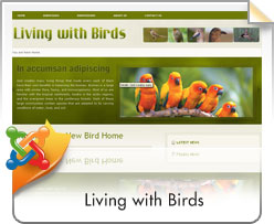 Joomla, Living With Birds