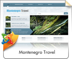 Joomla, Montenegro Travel