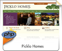 PHP, Picklo Homes