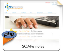 PHP, Soape Notes