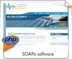 PHP, Soape Software