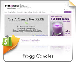 Shopify, Frogg Candles