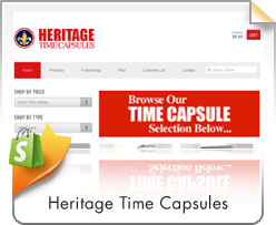 Shopify, Heritage Time Capsules