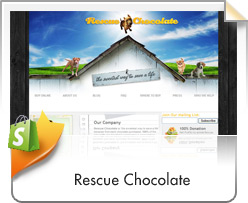 Shopify, Rescue Chocolate