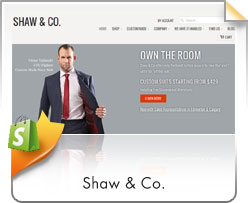 Shopify, Shaw & Co