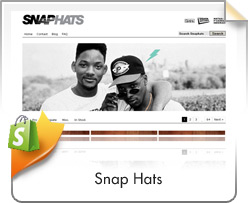 Shopify, Snap Hats