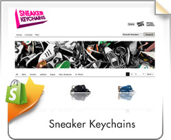Shopify, Sneaker Keychains