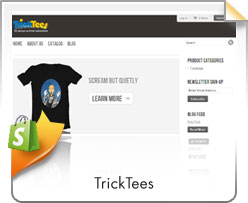 Shopify, Trick Tees