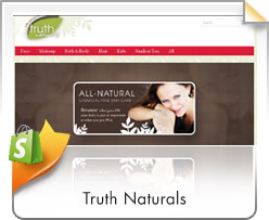 Shopify, Truth Naturals